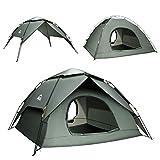 BFULL Pop-up Familie Camping Zelt 4-5 Personen, wasserdicht belüftet abnehmbare Instant-Zelt,...